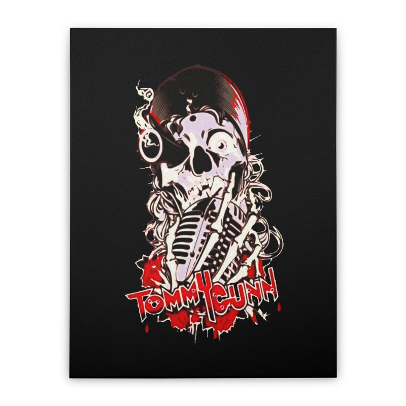 TOMMYGUNN Pirate Home Stretched Canvas by fever_int's Artist Shop