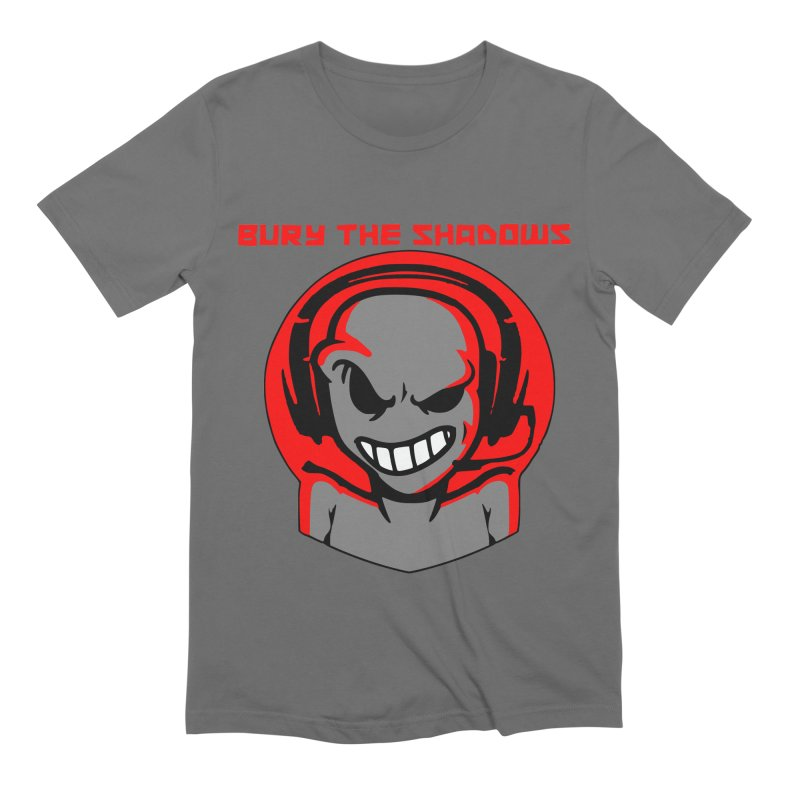 Bury The Shadows-Martian Men's T-Shirt by fever_int's Artist Shop