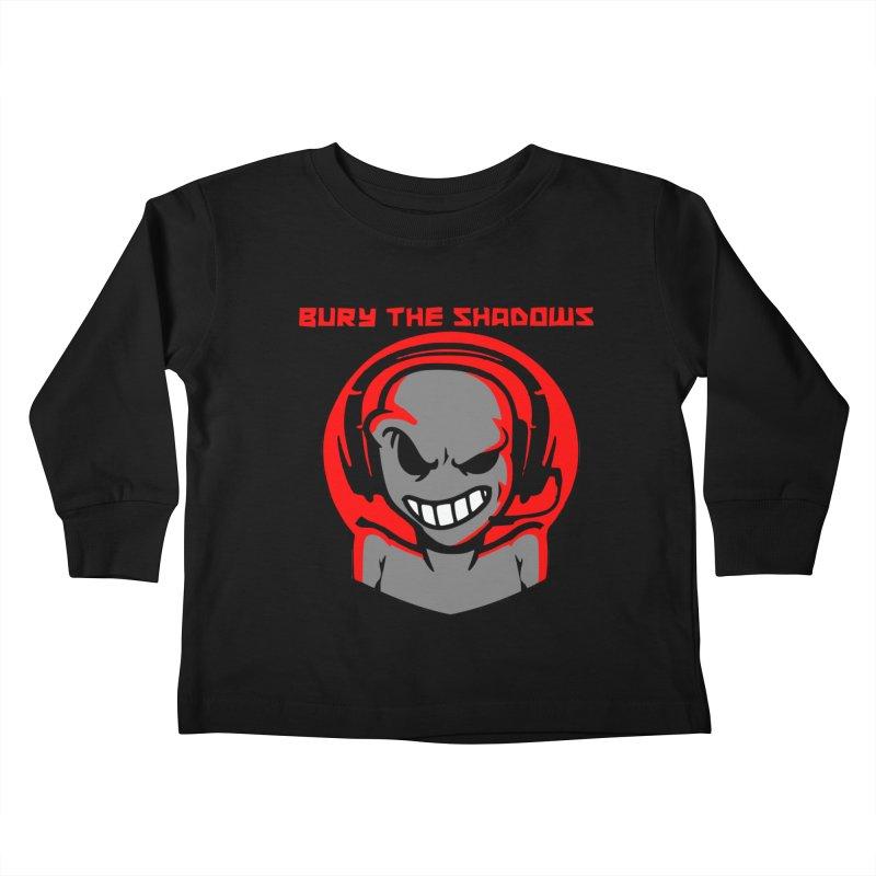 Bury The Shadows-Martian Kids Toddler Longsleeve T-Shirt by fever_int's Artist Shop