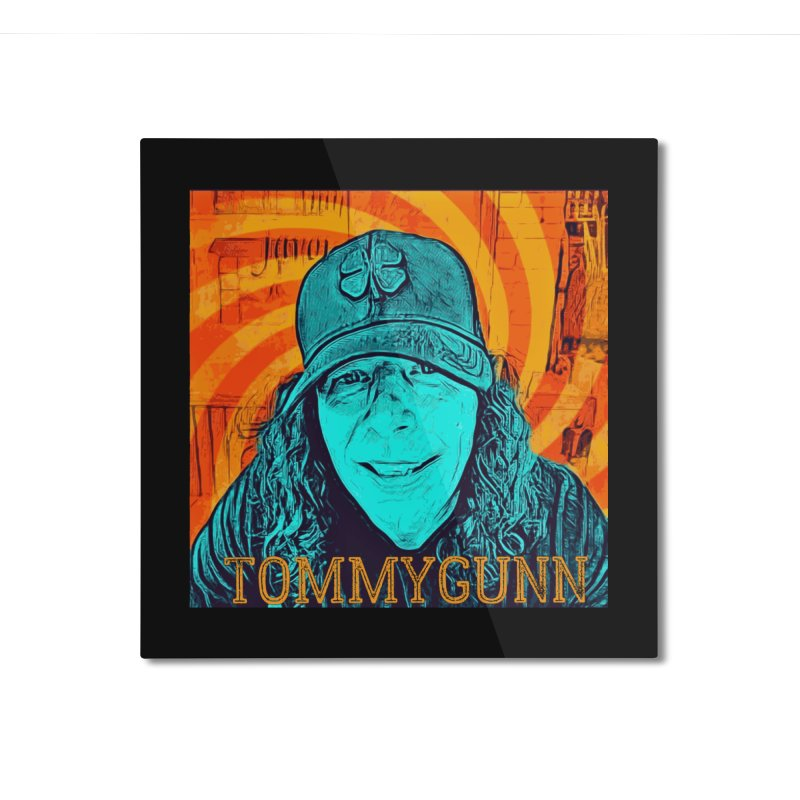TOMMYGUNN Home Mounted Aluminum Print by fever_int's Artist Shop