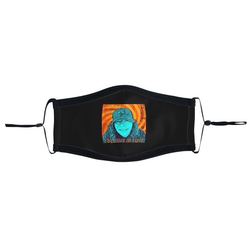 TOMMYGUNN - I BELIEVE IN LOVE - Style A Accessories Face Mask by fever_int's Artist Shop