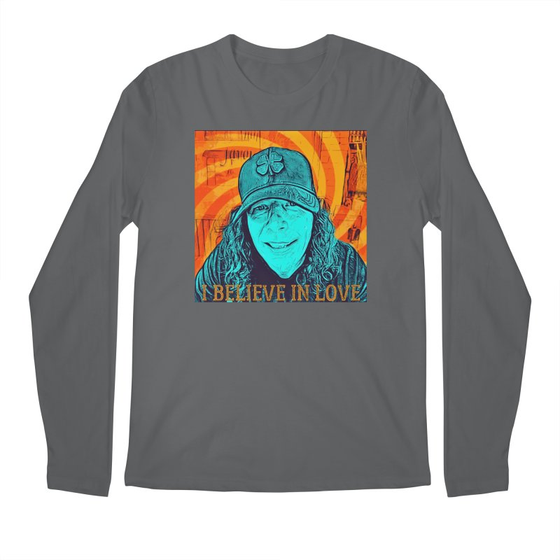 TOMMYGUNN - I BELIEVE IN LOVE - Style A Men's Longsleeve T-Shirt by fever_int's Artist Shop