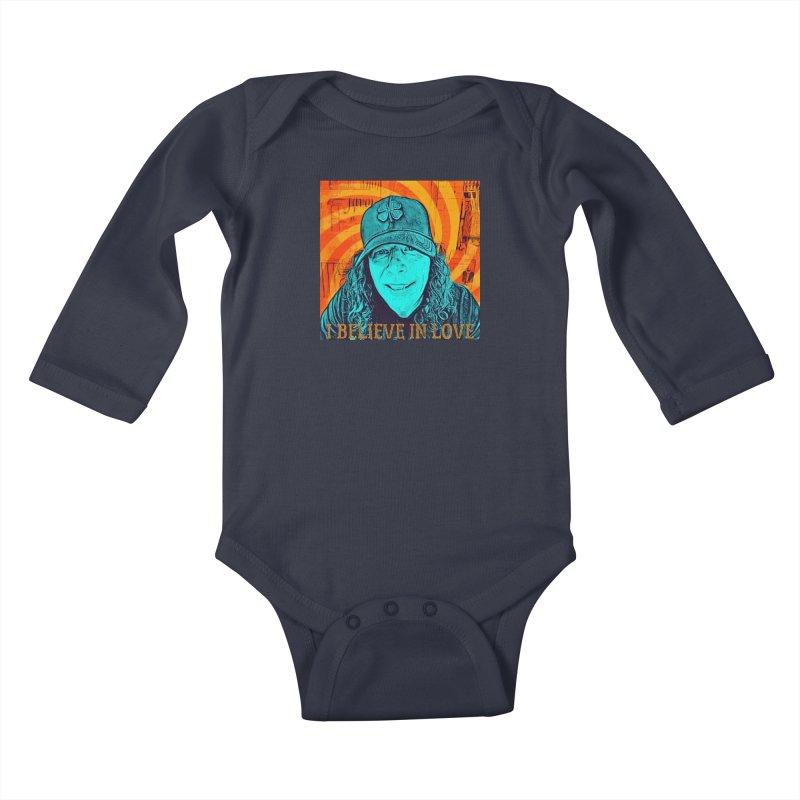 TOMMYGUNN - I BELIEVE IN LOVE - Style A Kids Baby Longsleeve Bodysuit by fever_int's Artist Shop
