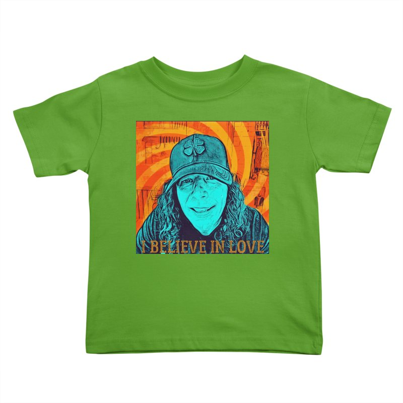 TOMMYGUNN - I BELIEVE IN LOVE - Style A Kids Toddler T-Shirt by fever_int's Artist Shop