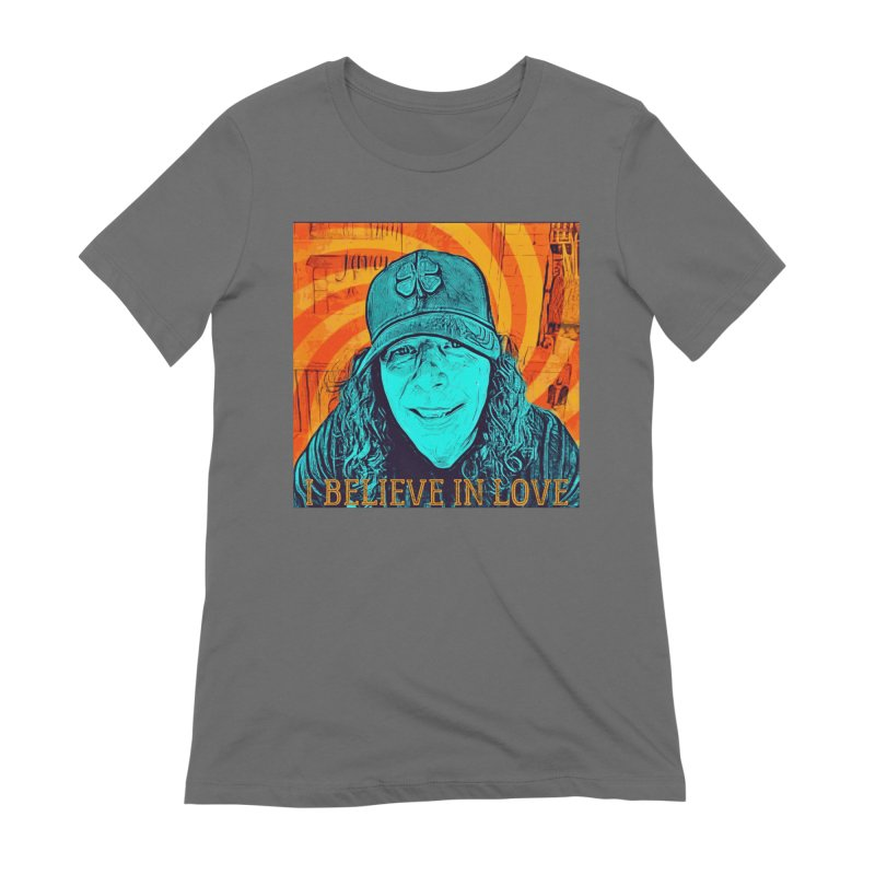 TOMMYGUNN - I BELIEVE IN LOVE - Style A Women's T-Shirt by fever_int's Artist Shop