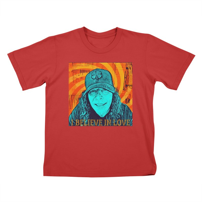 TOMMYGUNN - I BELIEVE IN LOVE - Style A Kids T-Shirt by fever_int's Artist Shop