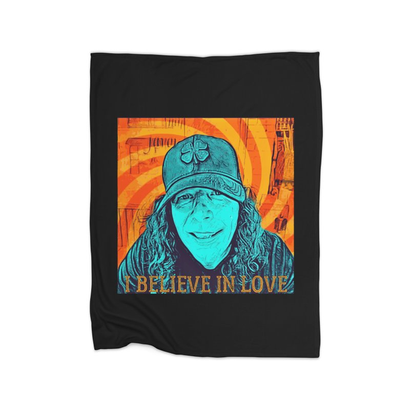 TOMMYGUNN - I BELIEVE IN LOVE - Style A Home Blanket by fever_int's Artist Shop