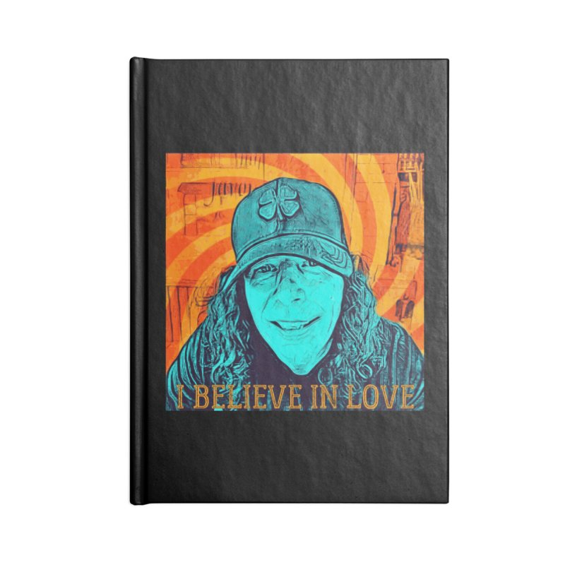 TOMMYGUNN - I BELIEVE IN LOVE - Style A Accessories Notebook by fever_int's Artist Shop