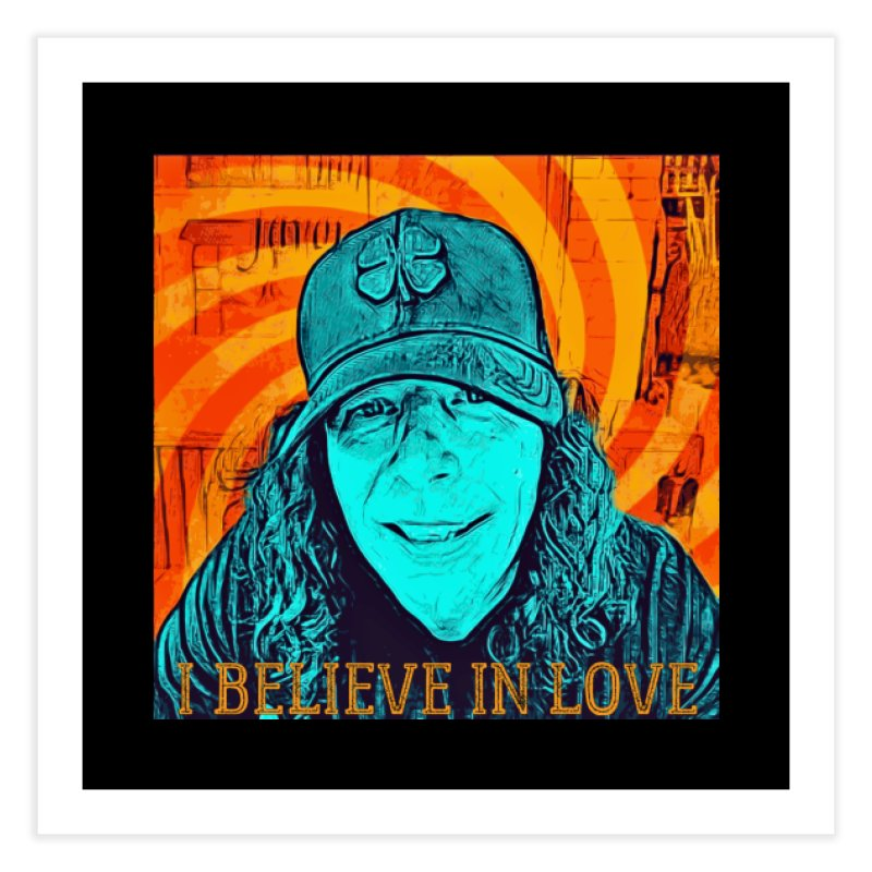 TOMMYGUNN - I BELIEVE IN LOVE - Style A Home Fine Art Print by fever_int's Artist Shop
