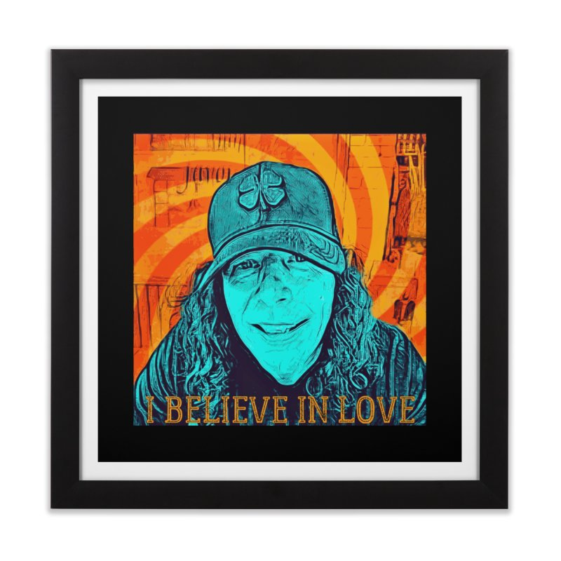 TOMMYGUNN - I BELIEVE IN LOVE - Style A Home Framed Fine Art Print by fever_int's Artist Shop