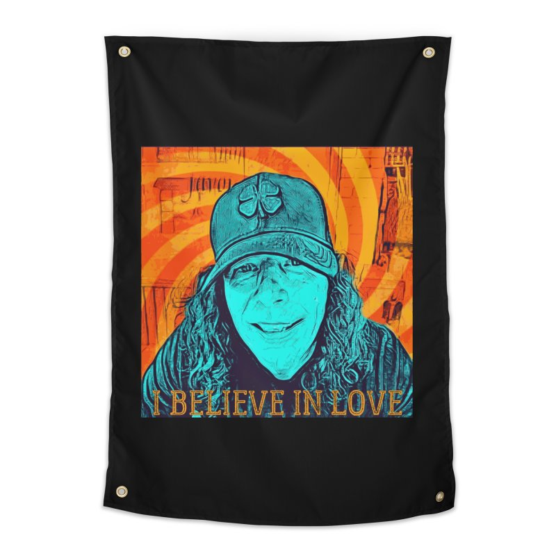 TOMMYGUNN - I BELIEVE IN LOVE - Style A Home Tapestry by fever_int's Artist Shop