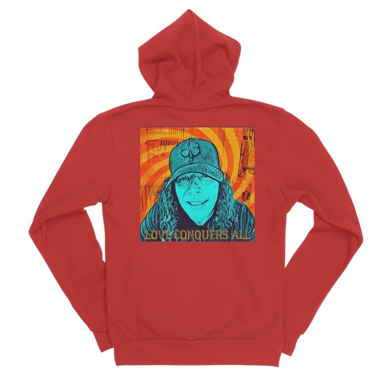 TOMMYGUNN - Love Conquers All - Style A Women's Zip-Up Hoody by fever_int's Artist Shop
