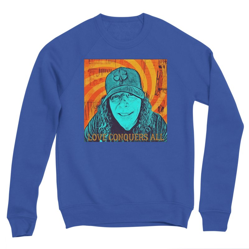 TOMMYGUNN - Love Conquers All - Style A Men's Sweatshirt by fever_int's Artist Shop