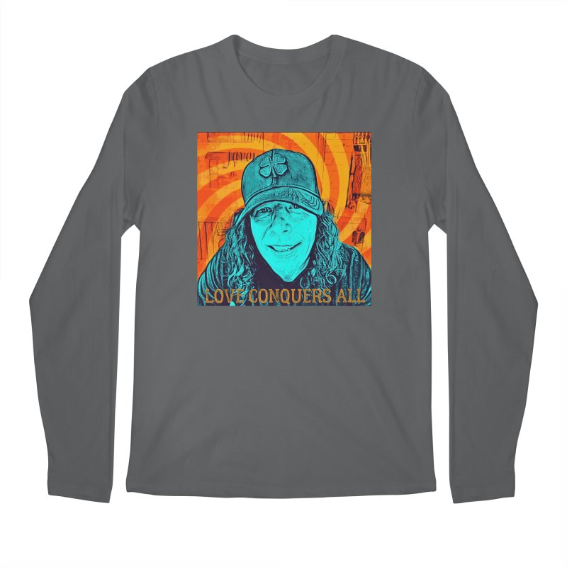 TOMMYGUNN - Love Conquers All - Style A Men's Longsleeve T-Shirt by fever_int's Artist Shop