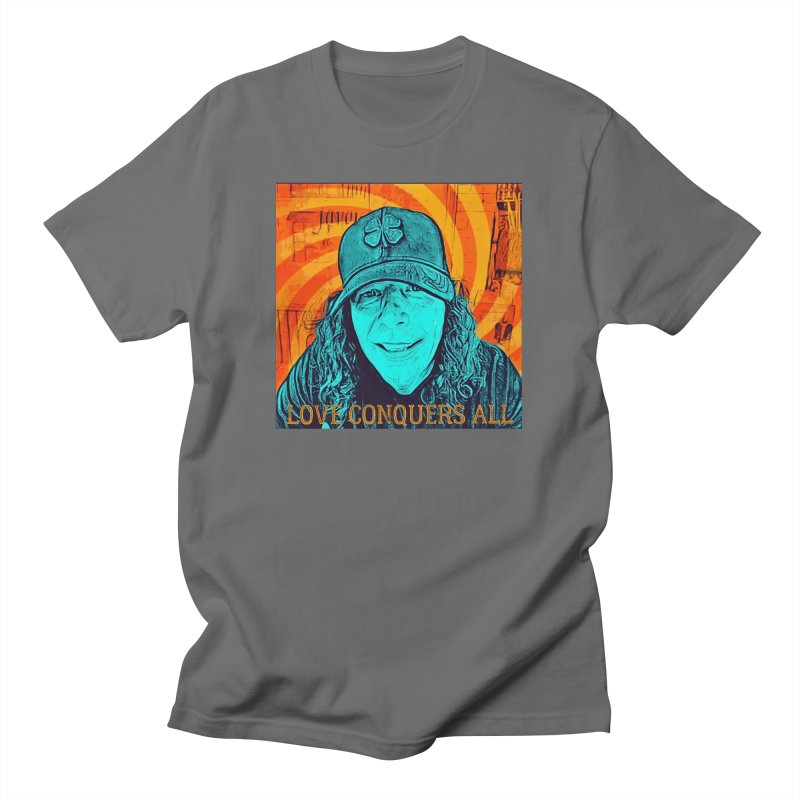 TOMMYGUNN - Love Conquers All - Style A Men's T-Shirt by fever_int's Artist Shop