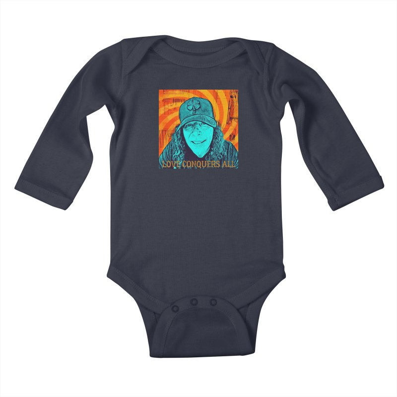TOMMYGUNN - Love Conquers All - Style A Kids Baby Longsleeve Bodysuit by fever_int's Artist Shop