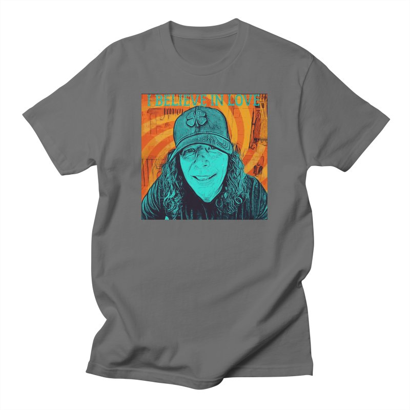 TOMMYGUNN - I Believe In Love - Style B Men's T-Shirt by fever_int's Artist Shop