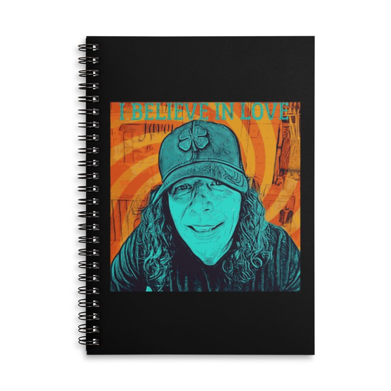 TOMMYGUNN - I Believe In Love - Style B Accessories Notebook by fever_int's Artist Shop