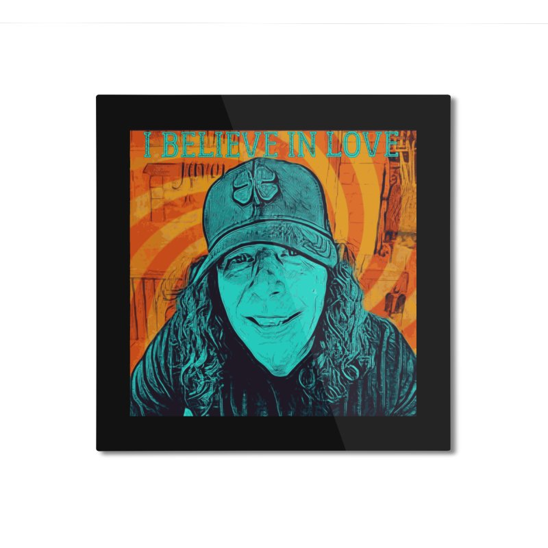 TOMMYGUNN - I Believe In Love - Style B Home Mounted Aluminum Print by fever_int's Artist Shop