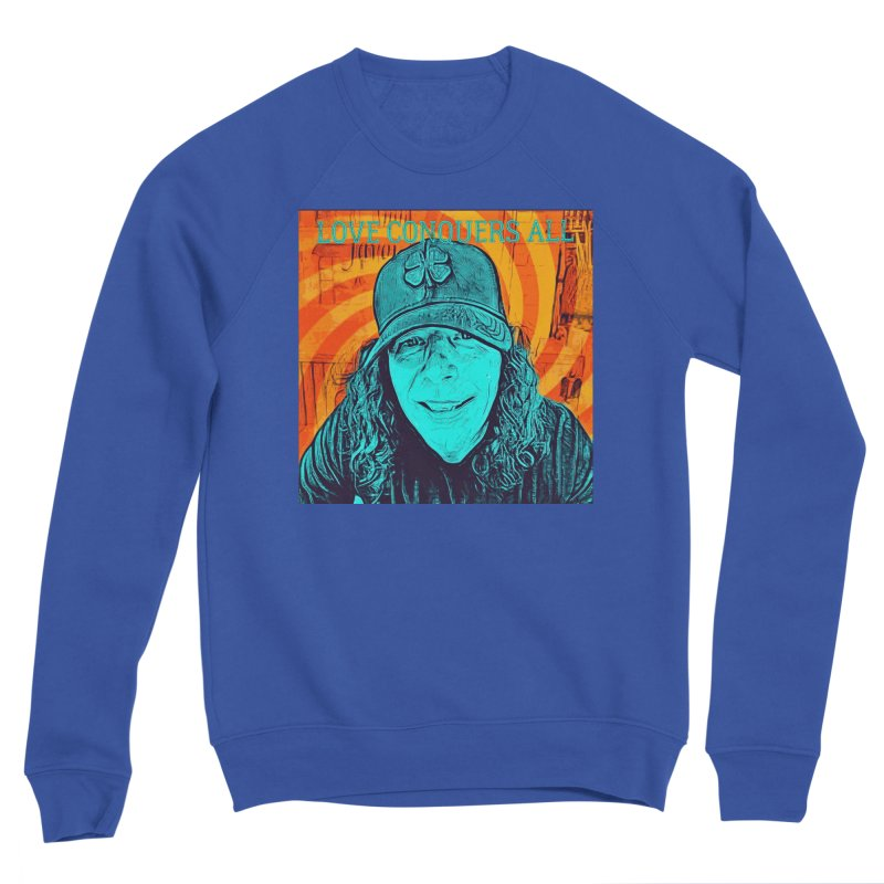 TOMMYGUNN - LOVE CONQUERS ALL - Style B Men's Sweatshirt by fever_int's Artist Shop