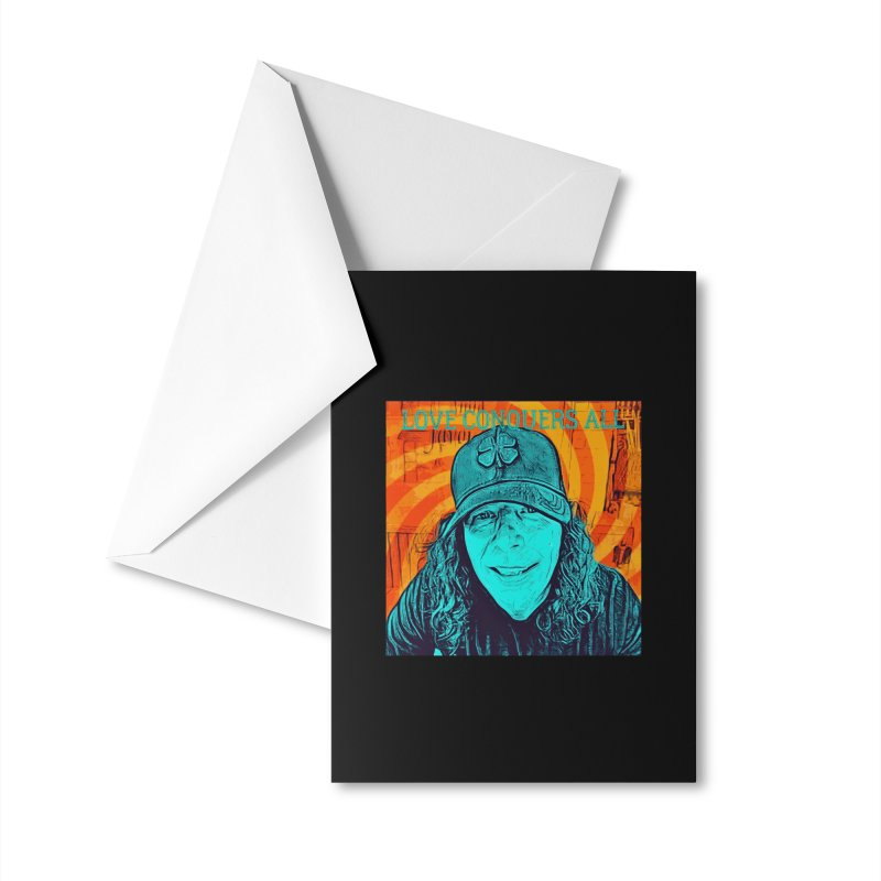 TOMMYGUNN - LOVE CONQUERS ALL - Style B Accessories Greeting Card by fever_int's Artist Shop