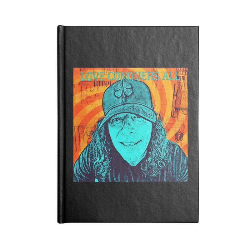 TOMMYGUNN - LOVE CONQUERS ALL - Style B Accessories Notebook by fever_int's Artist Shop