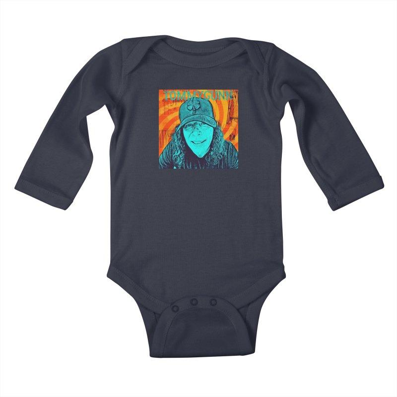 TOMMYGUNN - Style B Kids Baby Longsleeve Bodysuit by fever_int's Artist Shop