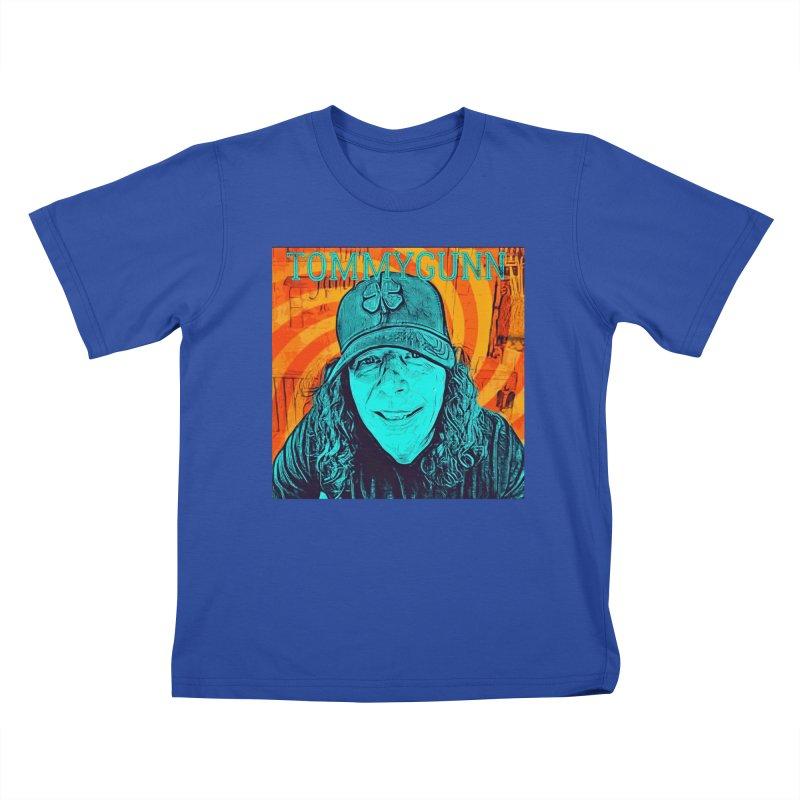 TOMMYGUNN - Style B Kids T-Shirt by fever_int's Artist Shop