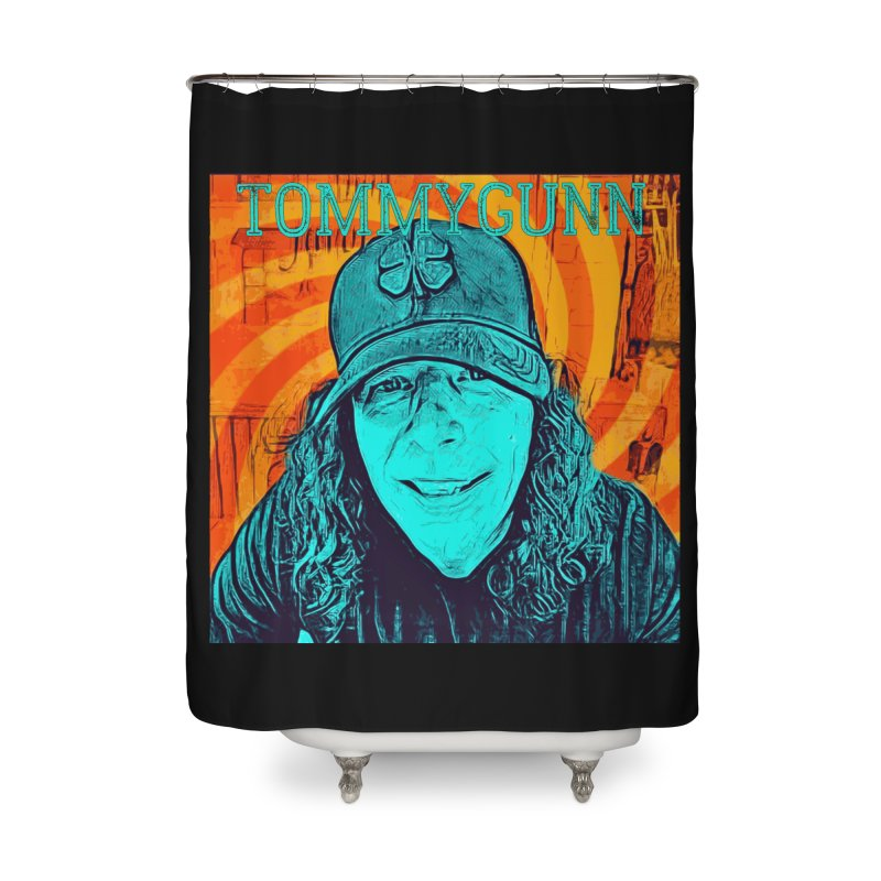 TOMMYGUNN - Style B Home Shower Curtain by fever_int's Artist Shop