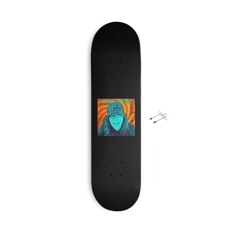 TOMMYGUNN - Style B Accessories Skateboard by fever_int's Artist Shop