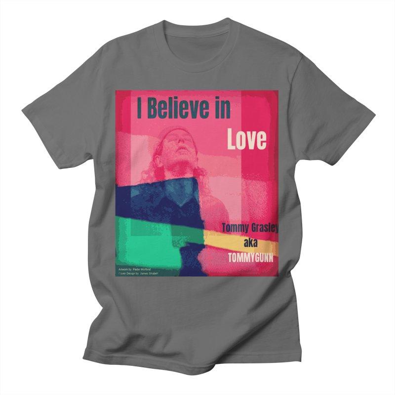 I Believe In Love Album Art - TOMMYGUNN Men's T-Shirt by fever_int's Artist Shop