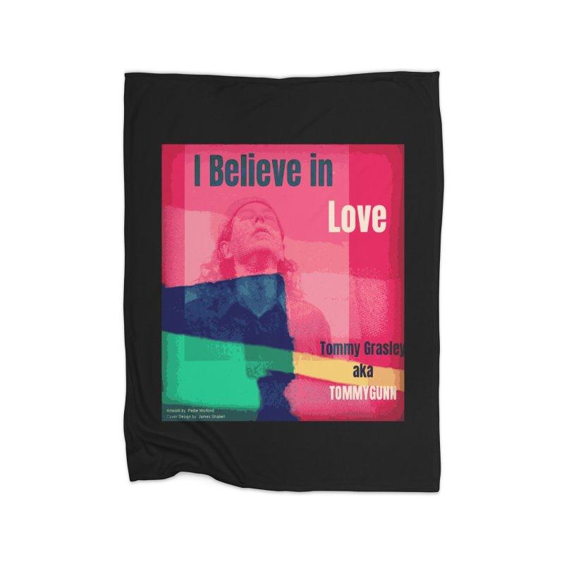I Believe In Love Album Art - TOMMYGUNN Home Blanket by fever_int's Artist Shop