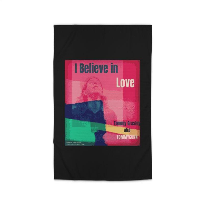 I Believe In Love Album Art - TOMMYGUNN Home Rug by fever_int's Artist Shop