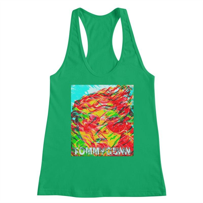 TOMMYGUNN-ART PRINT- Merch Women's Tank by fever_int's Artist Shop