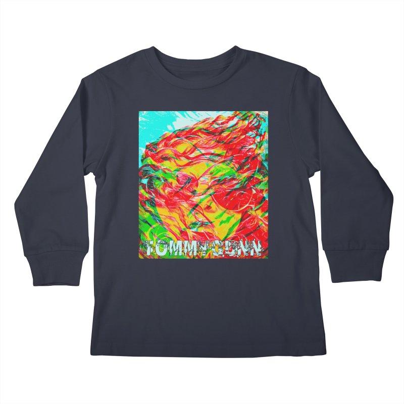 TOMMYGUNN-ART PRINT- Merch Kids Longsleeve T-Shirt by fever_int's Artist Shop