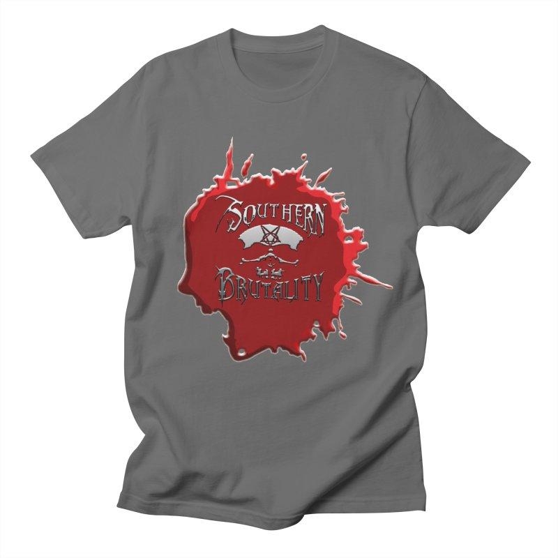 Southern Brutality - Jon - Head Merch Men's T-Shirt by fever_int's Artist Shop