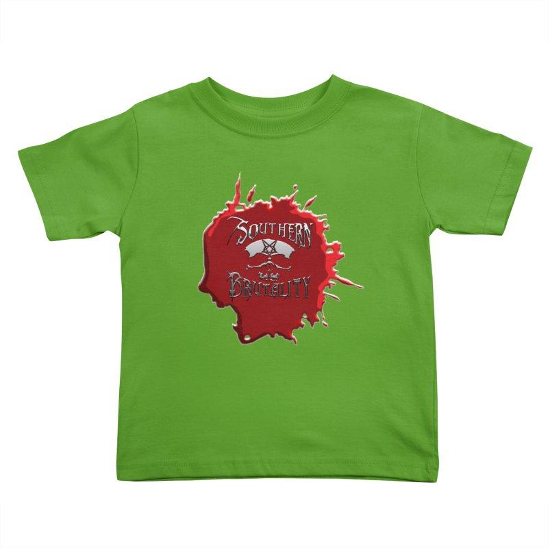 Southern Brutality - Jon - Head Merch Kids Toddler T-Shirt by fever_int's Artist Shop
