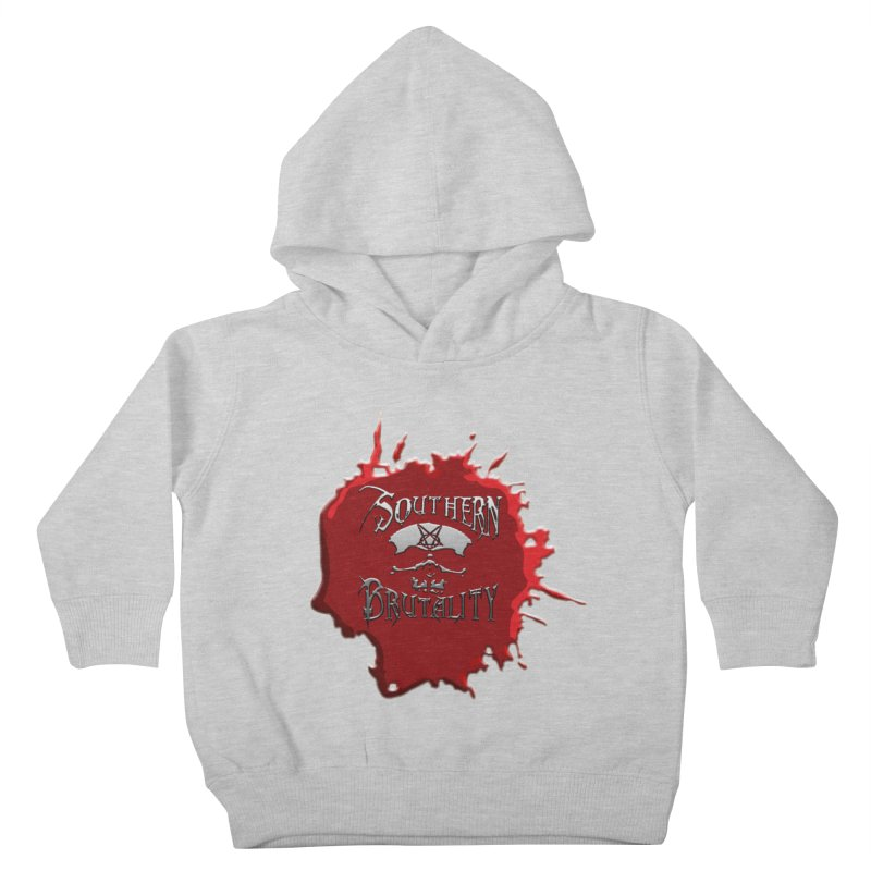 Southern Brutality - Jon - Head Merch Kids Toddler Pullover Hoody by fever_int's Artist Shop
