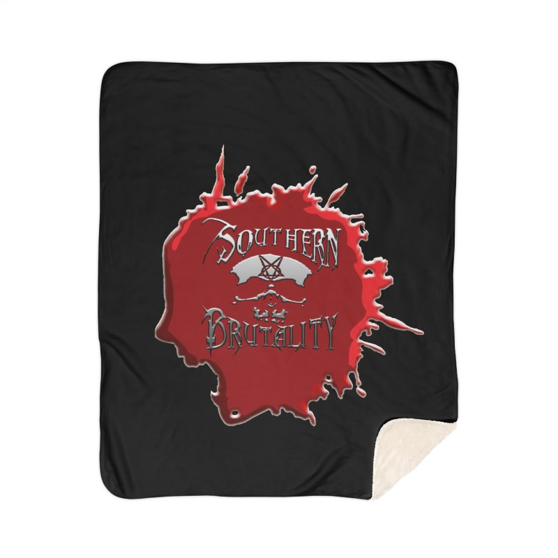 Southern Brutality - Jon - Head Merch Home Blanket by fever_int's Artist Shop