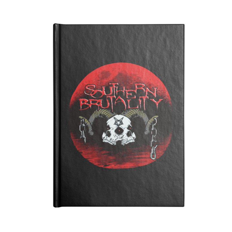 Death Skull - Design Style A Accessories Notebook by fever_int's Artist Shop