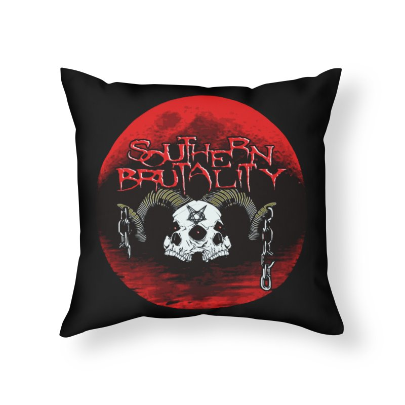 Death Skull - Design Style A Home Throw Pillow by fever_int's Artist Shop