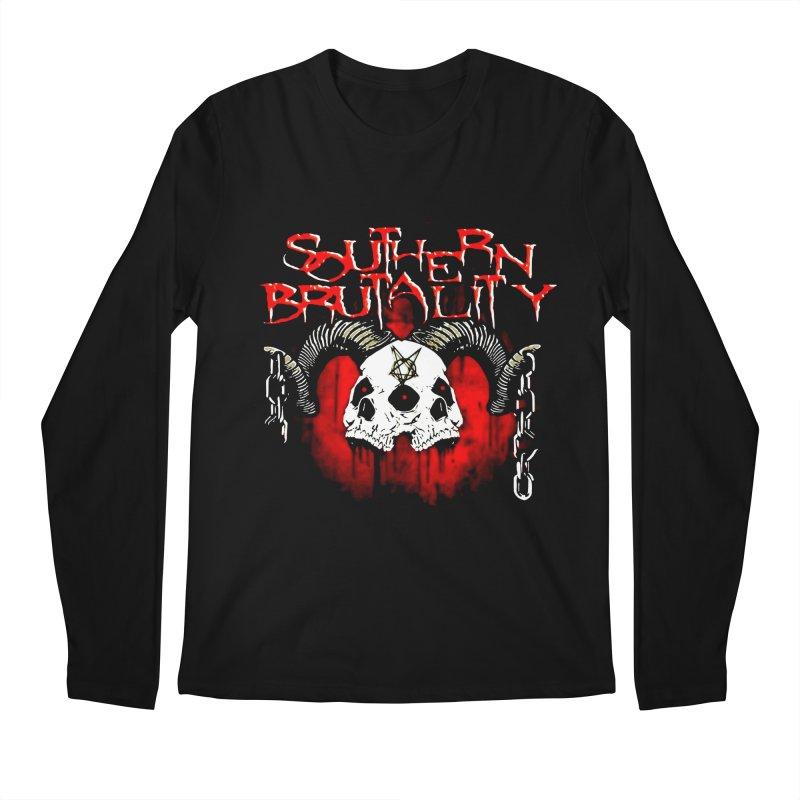 Southern Brutality - Art - Merchandise Men's Longsleeve T-Shirt by fever_int's Artist Shop