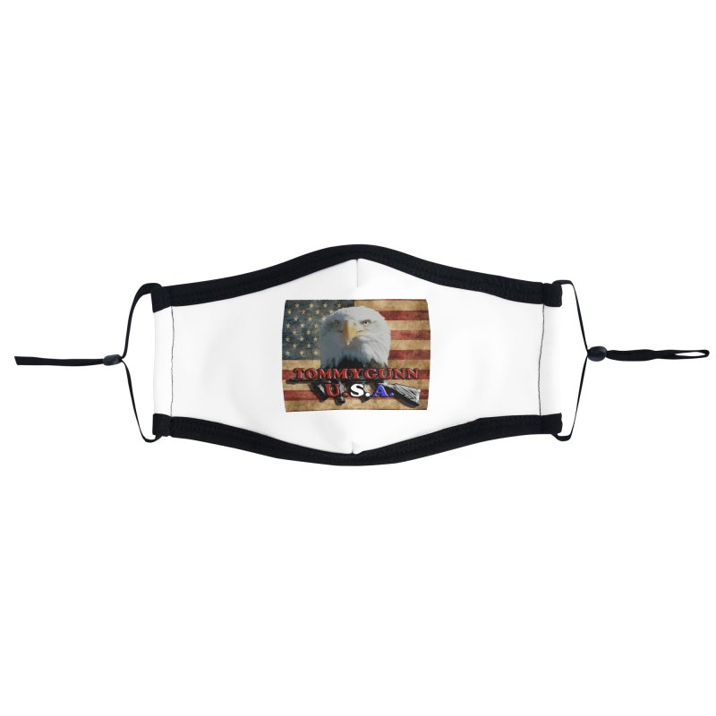TOMMYGUNN - Eagle Merch Accessories Face Mask by fever_int's Artist Shop
