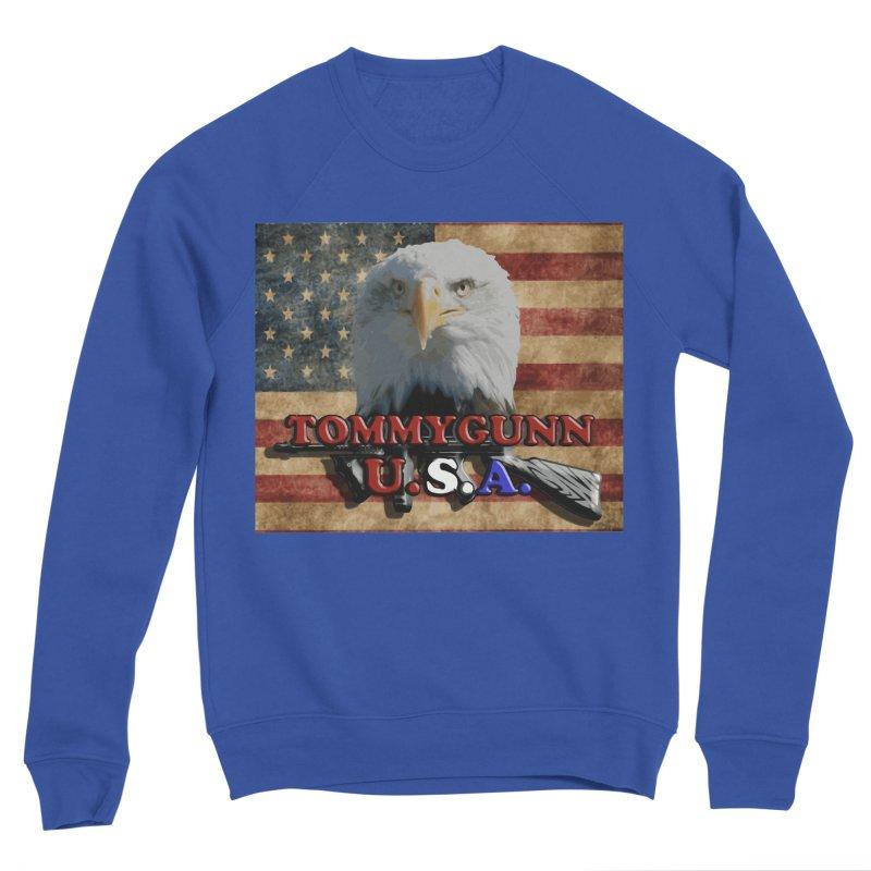 TOMMYGUNN - Eagle Merch Men's Sweatshirt by fever_int's Artist Shop