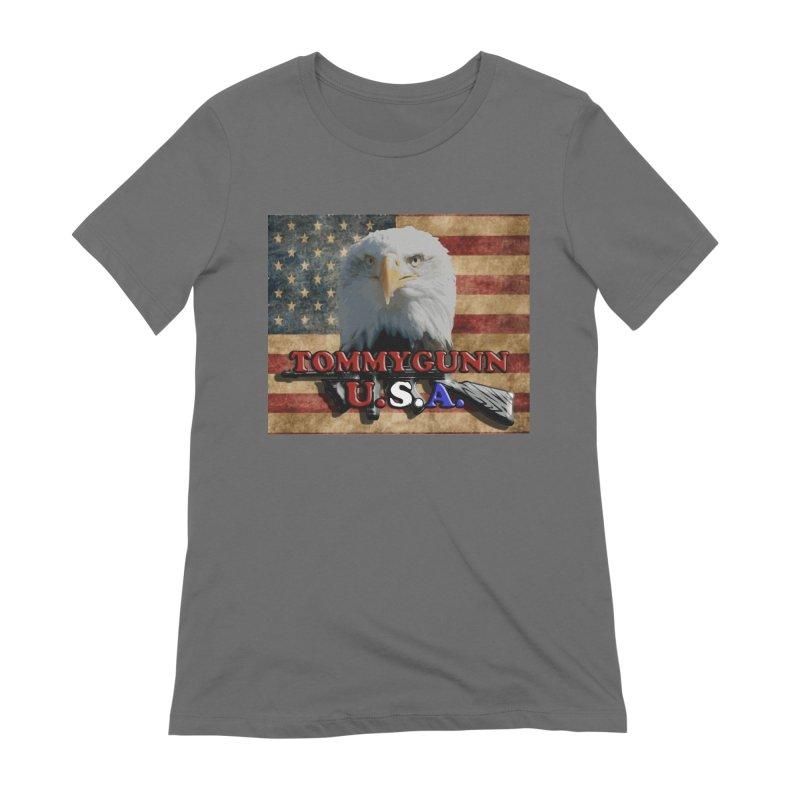 TOMMYGUNN - Eagle Merch Women's T-Shirt by fever_int's Artist Shop
