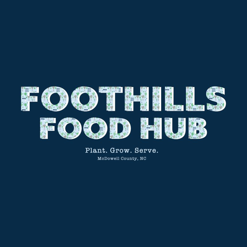 Foothills Food Hub Kids T-Shirt by Foothills Food Hub's Fan Gear Shop