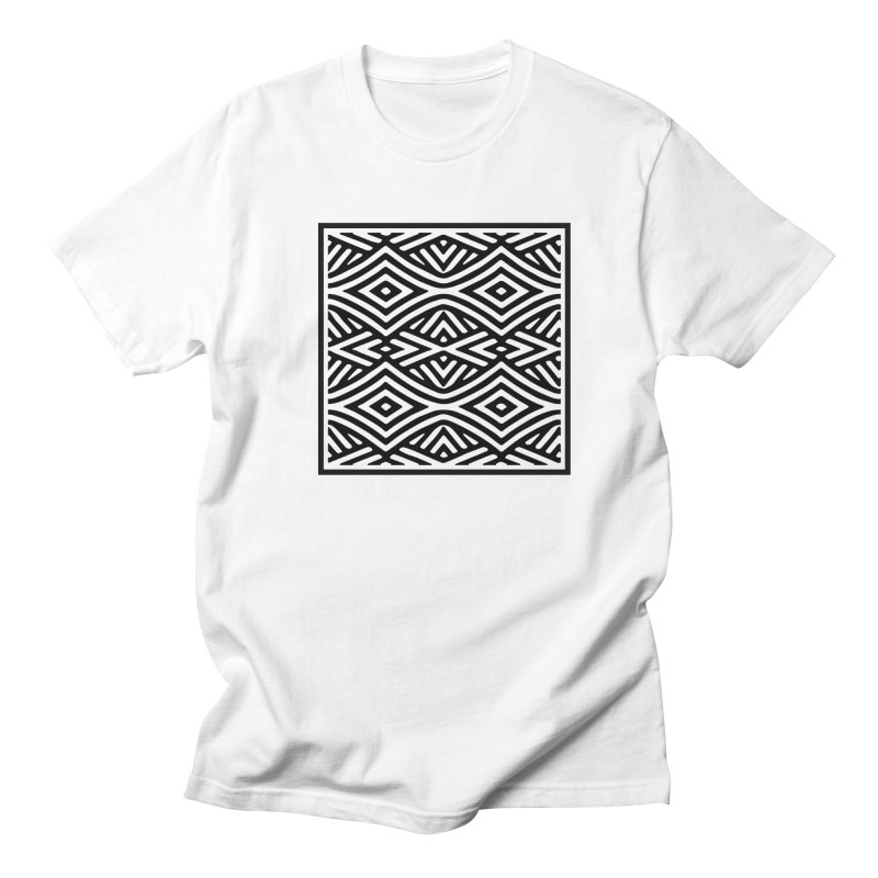 tribe in Men's Regular T-Shirt White by fgfd's Artist Shop