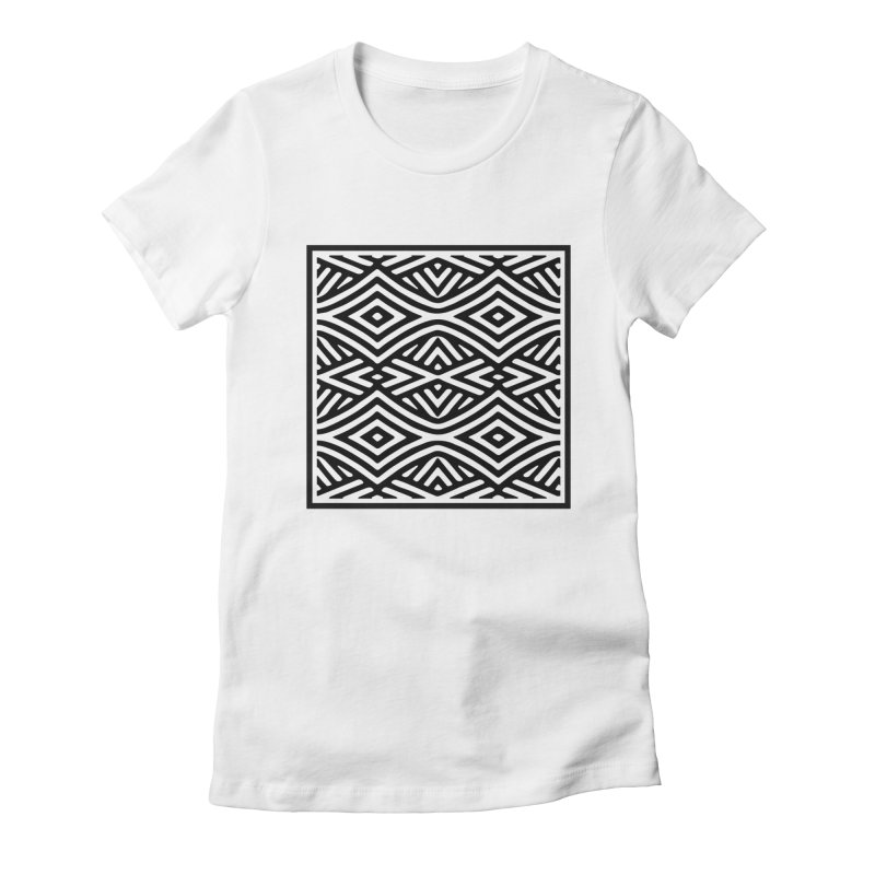 tribe Women's Fitted T-Shirt by fgfd's Artist Shop
