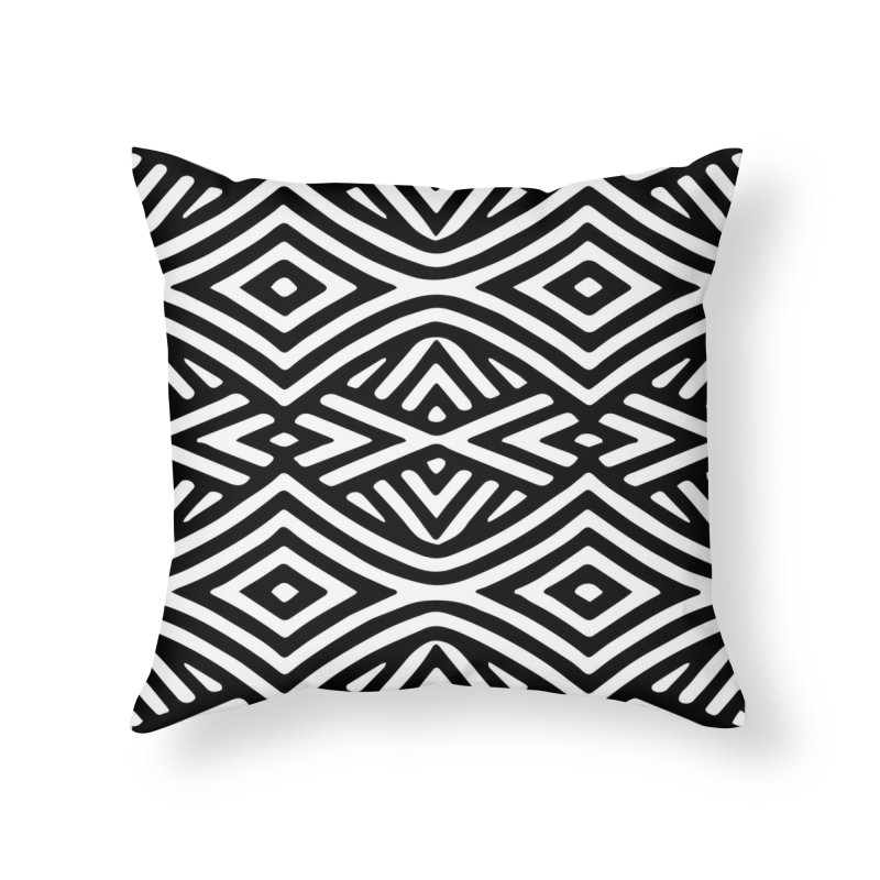 tribe Home Throw Pillow by fgfd's Artist Shop