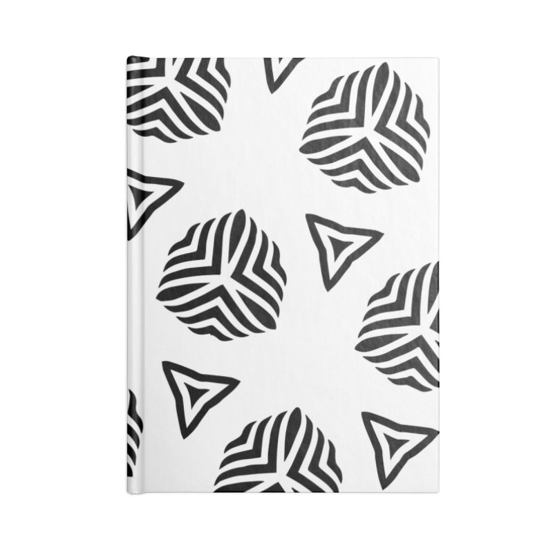 hype Accessories Blank Journal Notebook by fgfd's Artist Shop
